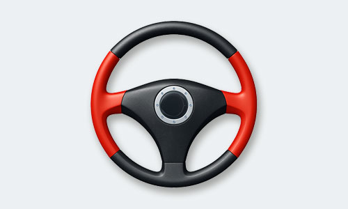 Steering wheel graphic